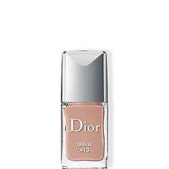 DIOR - Dior Vernis - True colour, ultra-shiny, long wear Grège 413 10ml