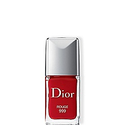 DIOR - Dior Vernis - True colour, ultra-shiny, long wear Rouge 999 10ml