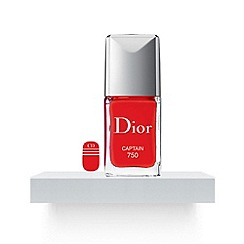 DIOR - Dior Vernis Manicure Transat - Nail polish & couture stickers duo Captain 750 10ml