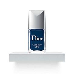 DIOR - Autumn Look-Dior Vernis Carre Bleu 796 10ml