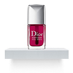 DIOR - Top Coat Tie Dye