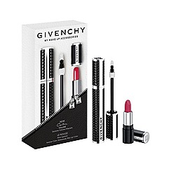 Givenchy - My Make-up Accessories: Noir Couture Volume mascara set - No.1 Black Taffeta