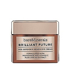 bareMinerals - 'Brilliant Future' age defence and renew eye cream 15g