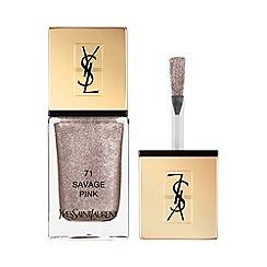 Yves Saint Laurent - 'La Laque Couture - 71 Savage Pink' nail polish