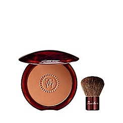 Guerlain - Bronzing powder and kabuki brush