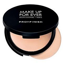 MAKE UP FOR EVER - Pro finish multi use powder foundation 10g