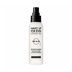 MAKE UP FOR EVER - 'Mist And Fix' setting spray 125ml