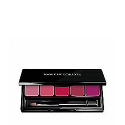 Make Up For Ever - Rouge Artist Lip Palette 2 - Cool Pink