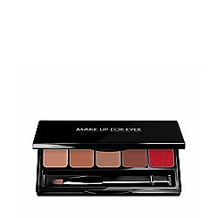 Make Up For Ever - Rouge Artist Lip Palette 3 - Warm Beige