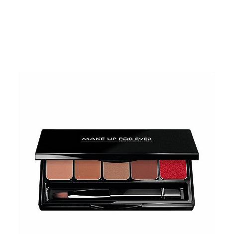 MAKE UP FOR EVER - +Rouge Artist+ warm beige lip palette 5 x 0.8g