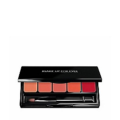 Make Up For Ever - Rouge Artist Lip Palette 6 - Coral