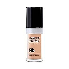 MAKE UP FOR EVER - 'Ultra HD' tan shades liquid foundation 30ml
