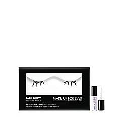 MAKE UP FOR EVER - 'Lash Show' creative impact no. C808 false eyelashes