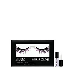 MAKE UP FOR EVER - 'Lash Show' creative impact no. C810 false eyelashes