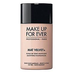 MAKE UP FOR EVER - 'Mat Velvet+' liquid foundation 30ml