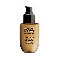 Make Up For Ever - Face & Body liquid Foundation 50ml