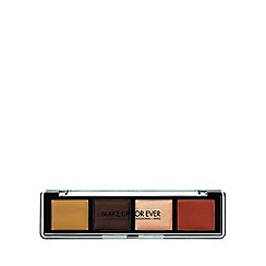 MAKE UP FOR EVER - 'Pro Sculpting' face palette dark 4 x 2.5g