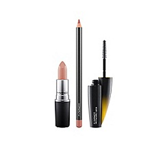 MAC Cosmetics - Lip + Lash Kit- Nude