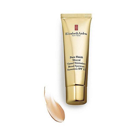 Elizabeth Arden - Pure finish mineral tinted moisturiser SPF15 8.33g