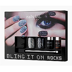 Nails Inc. - Bling it On Rocks collection gift set