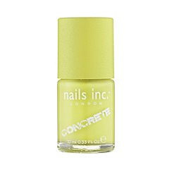 Nails Inc. - Monument Lime Concrete Nail Polish