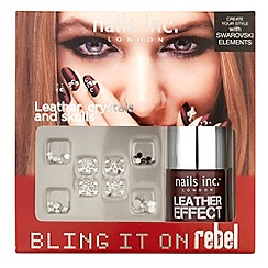 Nails Inc. - Nails Inc Bling It On Rebel collection Gift Set