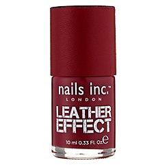 Nails Inc. - Nails Inc Shoreditch Lane Leather polish 10ml