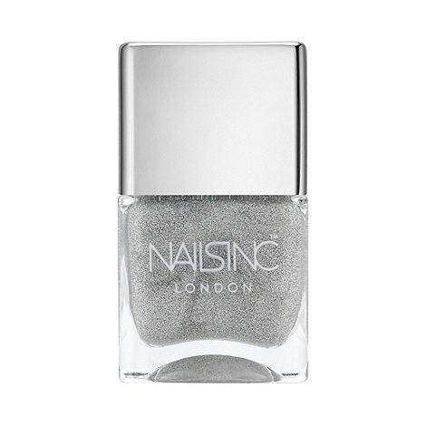 Nails Inc. - Electric Lane holographic top coat 14ml