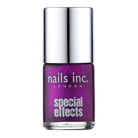 Nails Inc. - Special effects - The City glitter crackle top coat 10ml