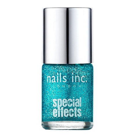 Nails Inc. - The West End glitter crackle top coat 10ml