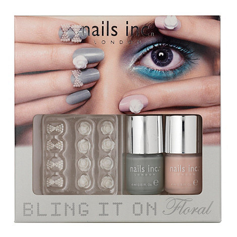 Nails Inc. - Bling It On Floral collection