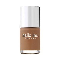 Nails Inc. - Cadogan square camel nail polish