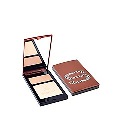 Sisley - Sun Glow Pressed Powder Duo in Peach Gold Gift Set