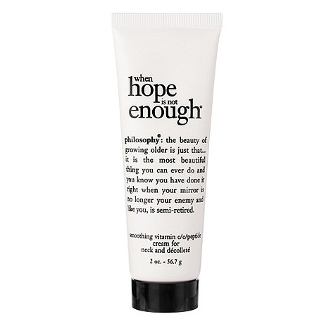 Philosophy - When Hope Is Not Enough Vitamin C/E/Peptide Cream For Neck And Decollete 60ml