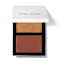 Bobbi Brown - 'Cheek Glow' bronze sun blusher palette 2 x 4.4g
