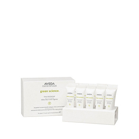 Aveda - +Green Science+ line minimiser creme 10 x 3ml
