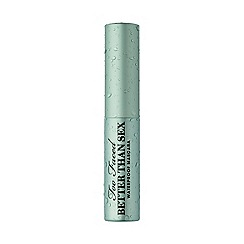 Too Faced - 'Better Than Sex' travel size waterproof mascara 8ml