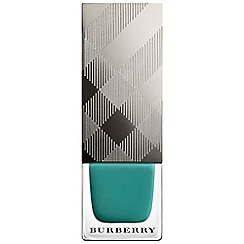 Burberry - Nail Polish iconic colour - Aqua Green no.418