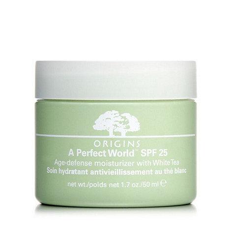 Origins - +A Perfect World+ SPF 25 moisturiser 50ml