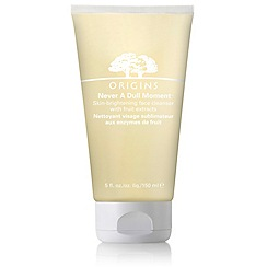 Origins - Never a dull moment skin brightening face cleanser 150ml