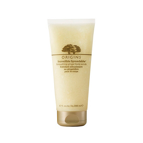 Origins - +Incredible Spreadable+ smoothing ginger body scrub 200ml