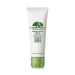 Origins - A Perfect World: BB SPF15 age-defense tinted moisturizer 50ml
