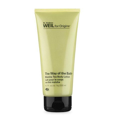 Origins - Dr. Weil Matcha tea body lotion 200ml