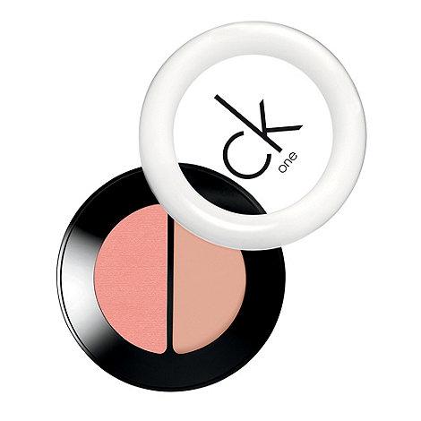 ck one cosmetics - ck one cream & powder blush duo