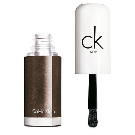 ck one cosmetics - ck one long wear + shine nail color in 950 Charcoal