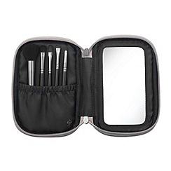Illamasqua - Mini Brush Set in Silver