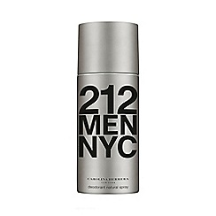 Carolina Herrera - '212 Men' deodorant natural spray
