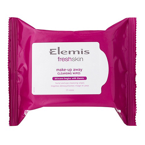 ELEMIS - +Freshskin By Elemis+ make-up away cleansing wipes pack of 25