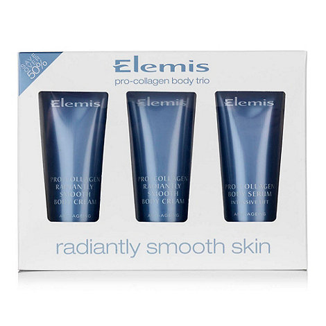 Elemis - Pro-collagen Radiantly Smooth Body Cream Travel Pack Gift Set