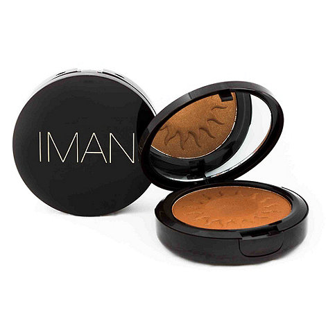 IMAN - Sheer Finish Bronzing Powder - Clay 10g